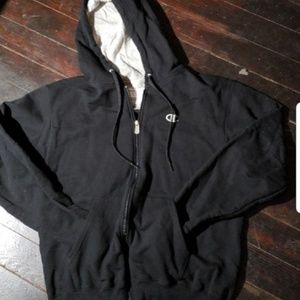 Champion fleece lined hoodie - nwot-size medium